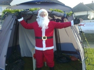 Welcome everyone to the Santa Grotto.