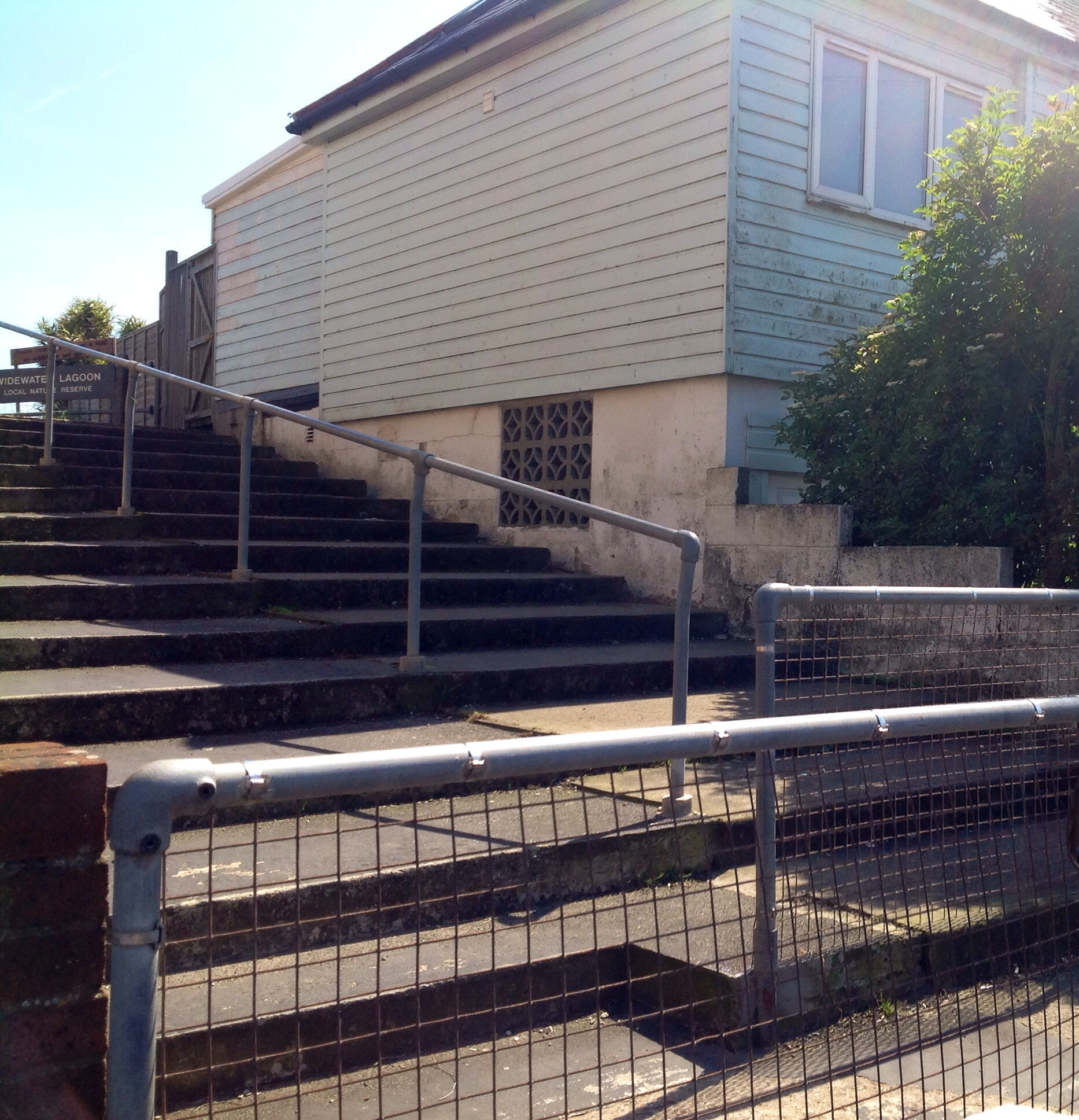 The steps to Widewater our less able residents can no longer manage.
