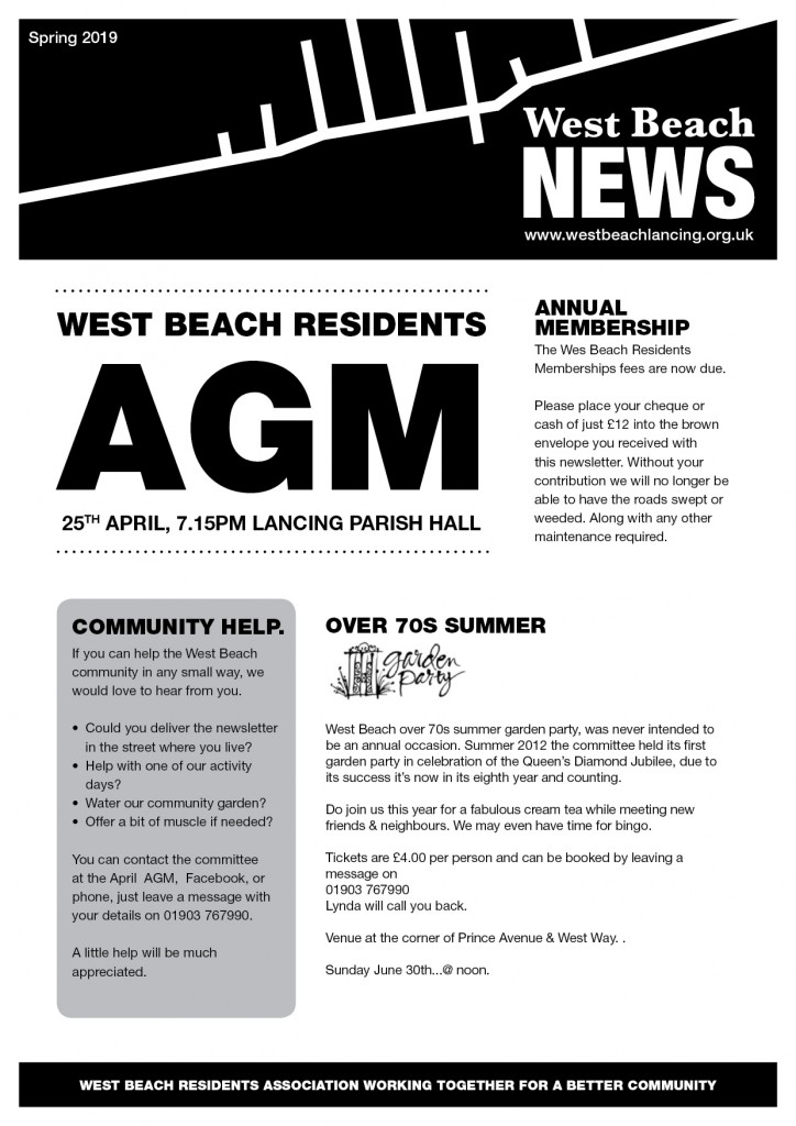WB newsletter spring 2019_FINAL_Front